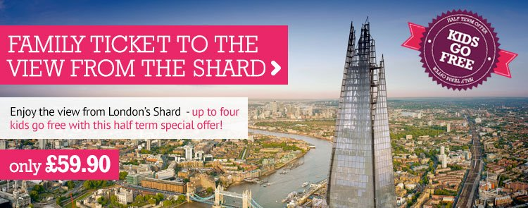 London Shard Voucher Code