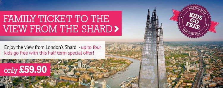 London Shard Voucher Code