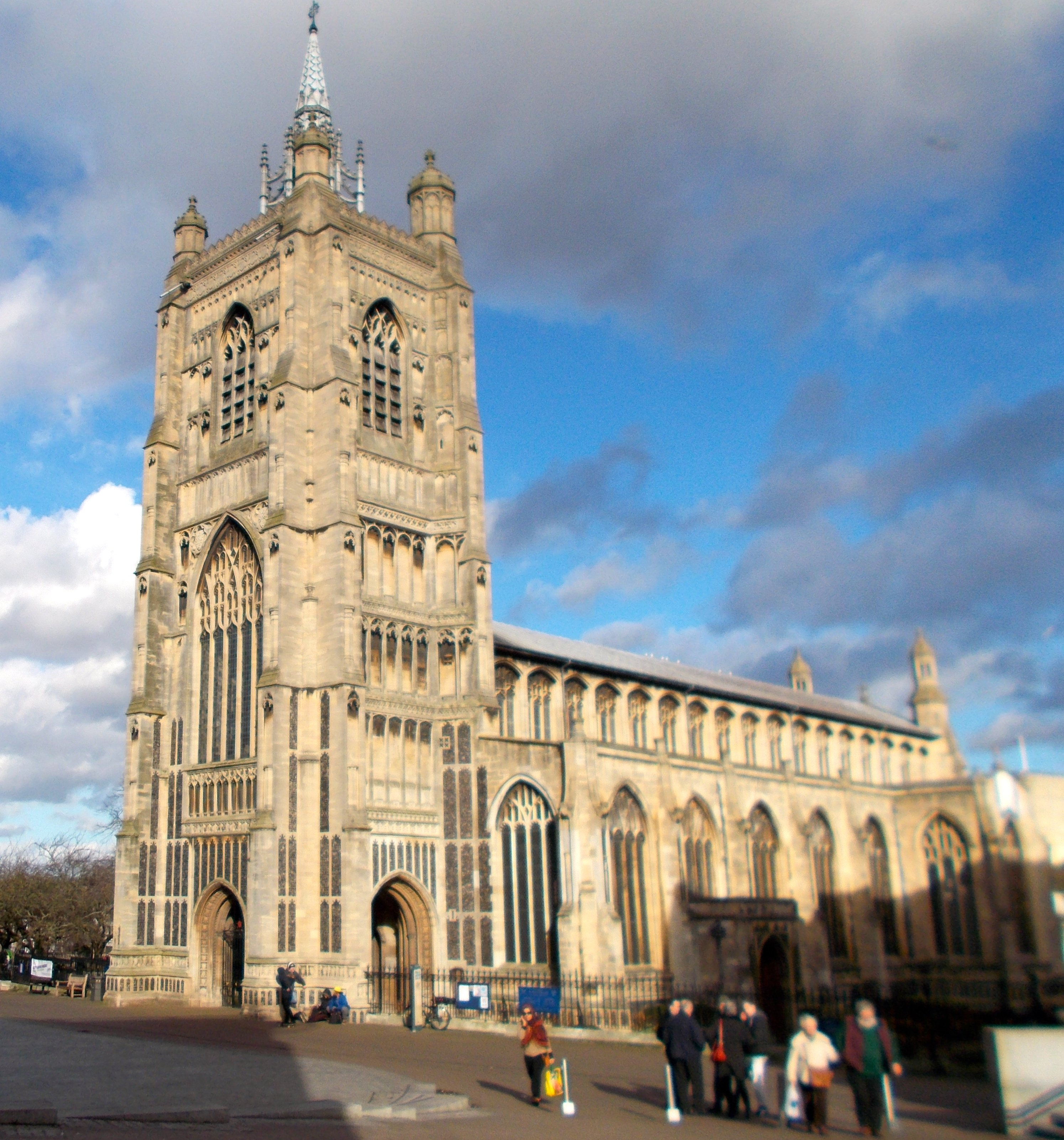 View of St Peter Mancroft Norwich