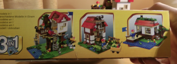 Lego Tree House - 3 in 1 kit