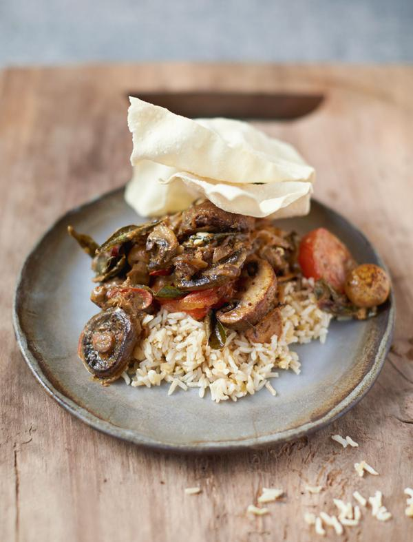 Mushroom Curry Picture