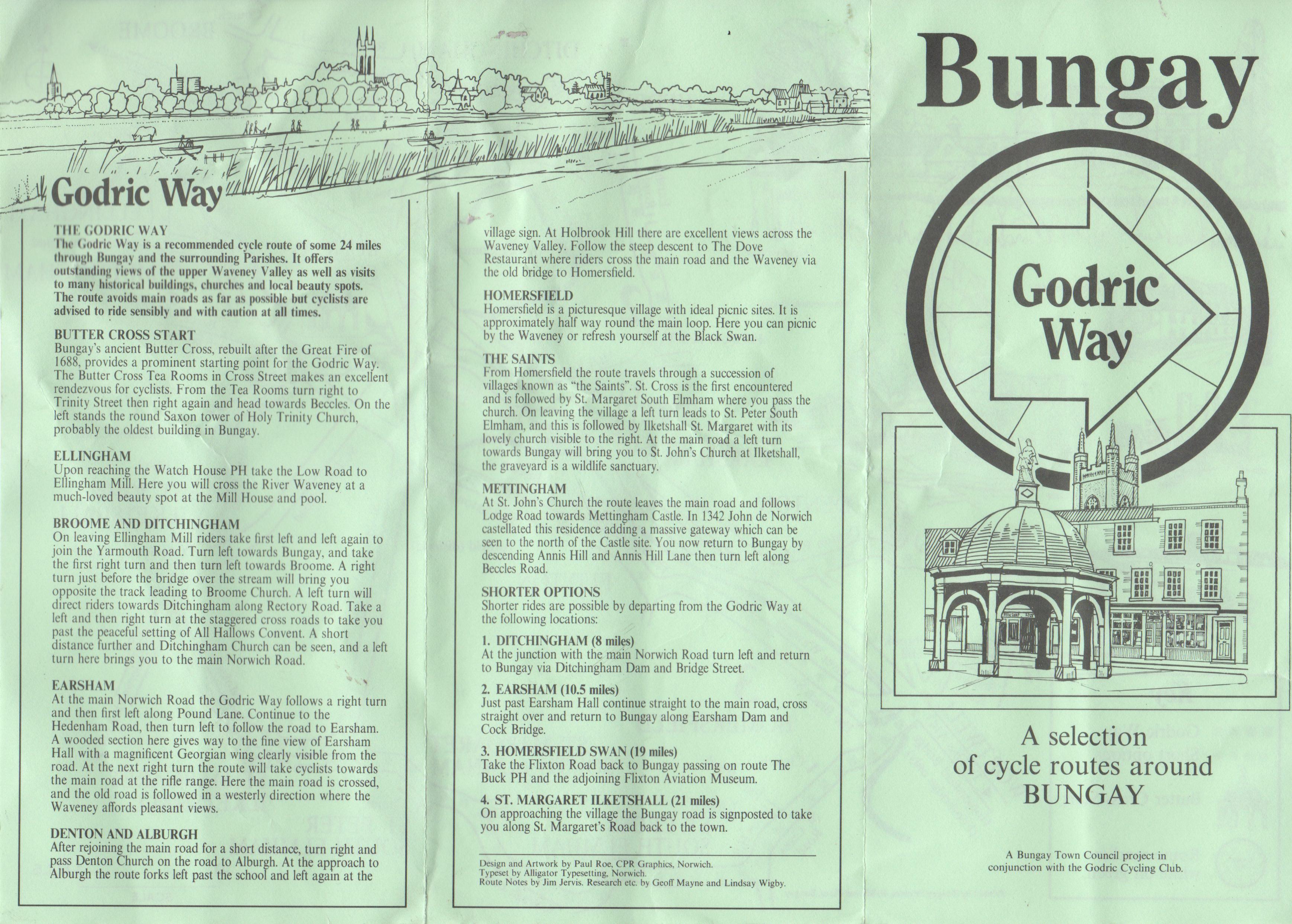 Bungay Godric Way Walk Guide
