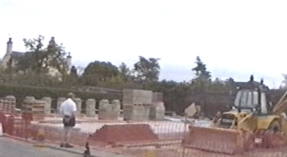 Bungay Library Building Site 1992