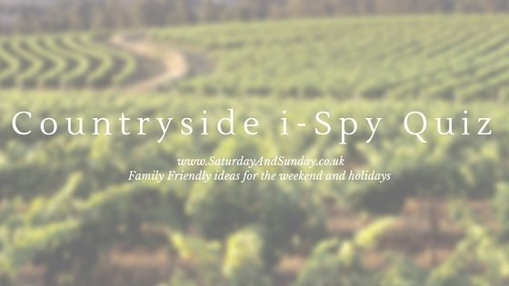 Countryside easy iSpy Quiz