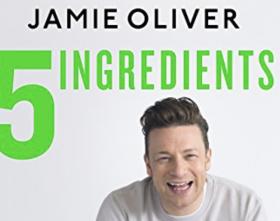 Jamie Oliver Five Ingredients cookery book