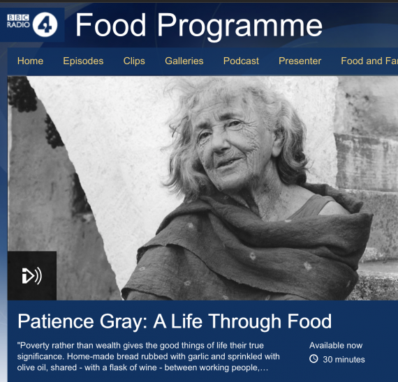 Patience Gray: A Life Through Food